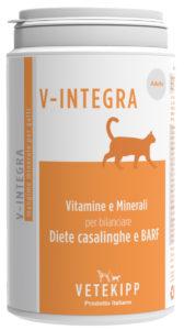 V-Integra gatto adulto 200g - Integratore per dieta casalinga del gatto adulto